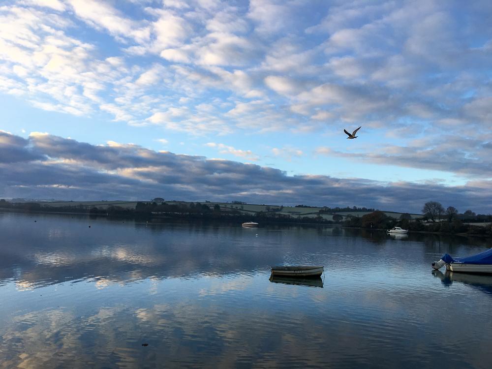 Dawn over Kingsbridge Estuary